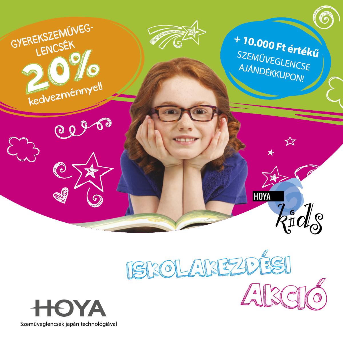 Gyermekszemüveg lencse akció + ajándék 10.000 Ft értékű kupon 892591f97a