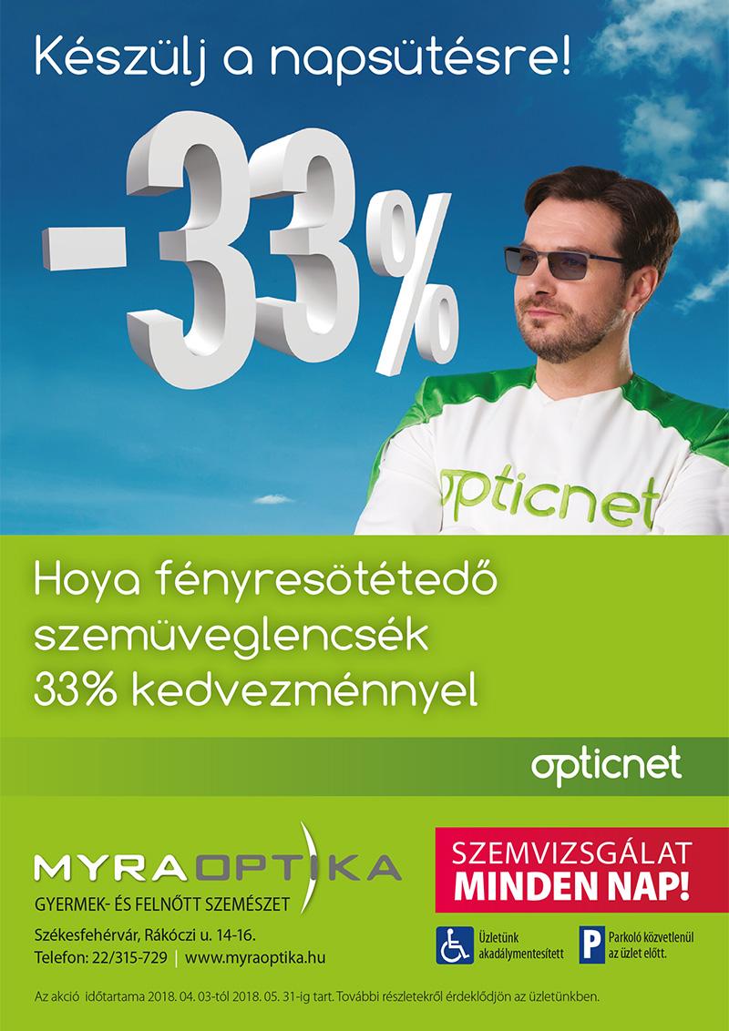 Hoya Fényresötétedő Szemüveglencsék 33%-os Kedvezménnyel 48316d0906